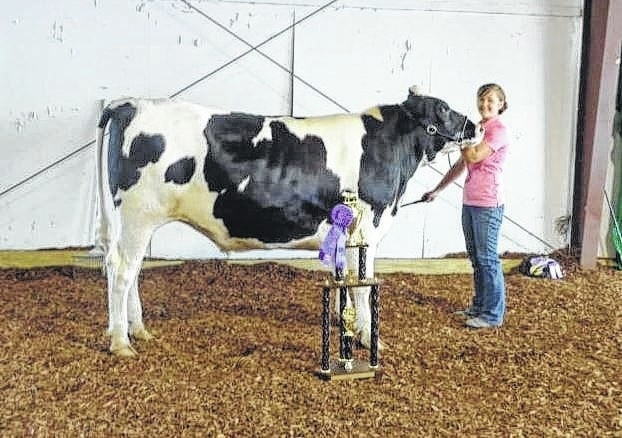 Victoria Schappacher was very successful showing her animals at the Fayette County Fair.