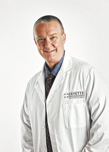 Dr. Robert Pickering is a board-certified pulmonologist at the Fayette County Memorial Hospital.