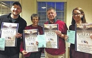 Some of the members of the Fayette County National Day of Prayer holding the posters you will see around town providing information about the National Day of Prayer activities. Those present at the recent March 14 meeting included: Jim and Nancy Boyer, Mary Estle, Norman May, Tanner Mick, Danny Merritt, Paul Bain, Queenie Ables, Sara Landrum, Nancy Penwell, and Pat Brinkman.