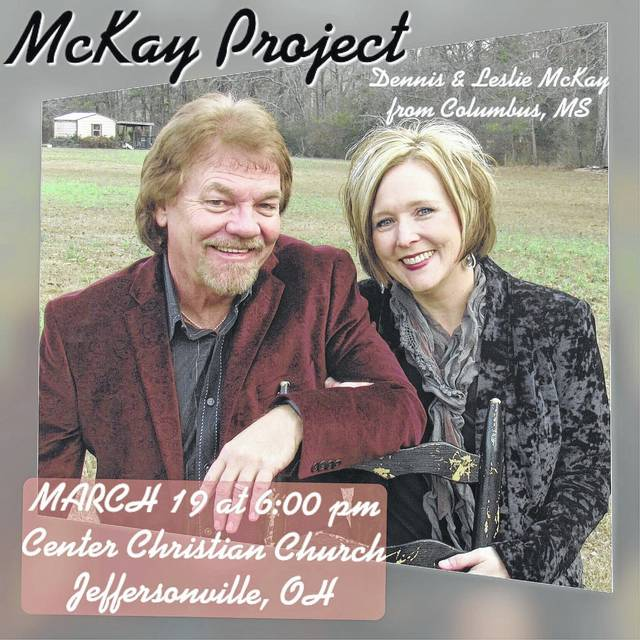 The McKay Project will perform at Center Christian Church on March 19.