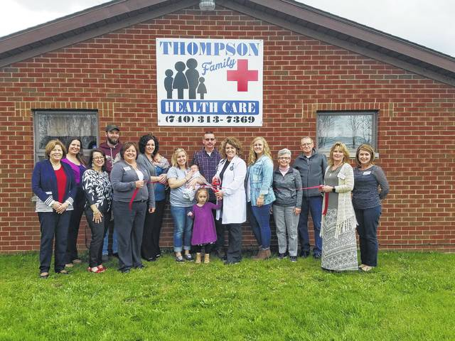 The Fayette County Chamber of Commerce recently welcomed Thompson Family Healthcare with a ribbon cutting.