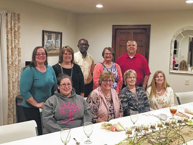 Leadership Fayette recently started and Godwin Apaliyah is excited to bring the program to the county once again. Front row (L to R): Jessica Merritt, Colleen Roundhouse, Judy Havens and Melinda Hellard. Back row (L to R): Tara Ivers, Amy Joseph, Godwin Apaliyah, and Todd Flowers. Not in Picture: Chelsie Snively and Carrie Taublee.