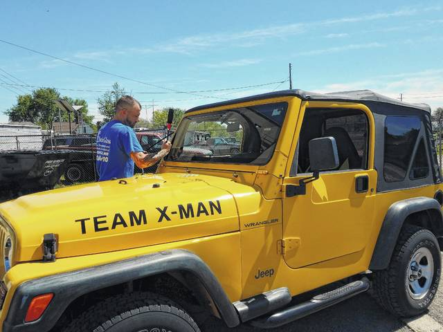 Wayne Turner and his wife, Ronda, have been working with their family and others to raise money for the Muscular Dystrophy Association for years and have raised thousands of dollars. Recently, Turner went to replace the windshield of his yellow Jeep and First Choice Glass offered to replace the glass free of charge as a donation to Team X-Man. The money Turner saved will continue to go toward finding a cure for muscular dystrophy and he said that many local organizations are very willing to help their cause.