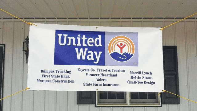 """United Way thanked event sponsors, Bumpus Trucking, First State Bank, Marquee Construction, Fayette Travel and Tourism, Vermeer Heartland, Valero, State Farm Insurance, Merrill Lynch, Melvin Stone and Quali-Tee Design. First State Bank/Marquee Construction team came in second. Tanger Outlet donated awards for """"Longest Drive"""" with Nick Fauber winning as well as """"Closest to the Pin"""" with Dave Harp winning."""