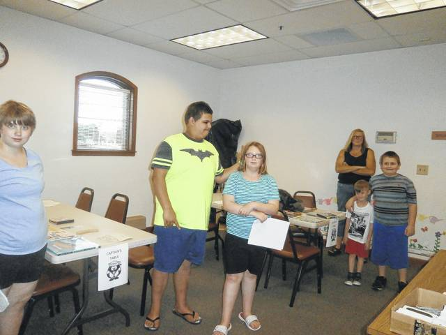 Bronco Charlie Mills was only 11 when he was hired by the Pony Express to deliver the mail. So, that being said, participants then searched for items in different parts of the library and then took turns relaying the items to their captain. The teams who finished first won a yummy prize. Those who learned lots about the Pony Express and the library were Nate, Kathy, Holly, Lilly, Candie, William and Kyler.