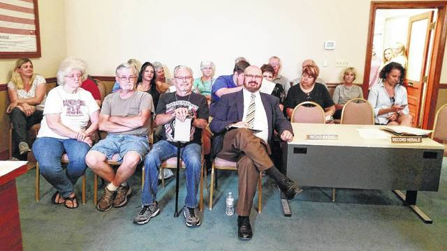 "A large crowd at Wednesday's Washington C.H. City Council meeting was pleased about the council's decision to throw out the ""kennel ordinance."""