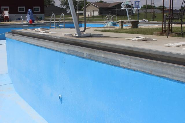 Leak in Jeffersonville Community Pool repaired - The Record Herald