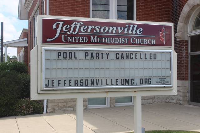 Community pool parties were cancelled as a result of the pool's leak.
