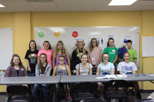 Thirteen local young people graduated from the safe sitter class.
