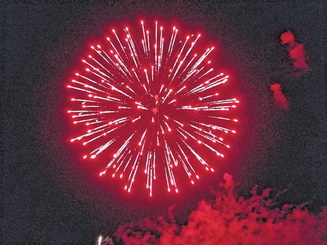 The 2017 Fire In The Sky was held Monday evening at the fairgrounds for the community to come together and celebrate the Fourth of July.