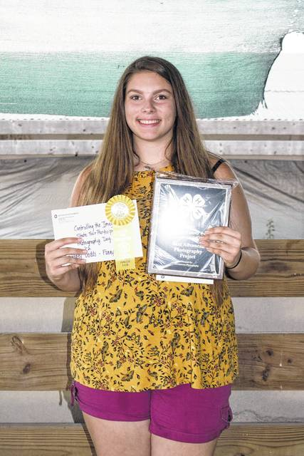 The 2017 Photography award winners and Ohio State Fair participants were Alex King and Courtney Dodds.