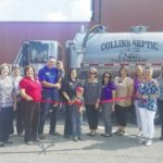 Collins Septic holds ribbon cutting