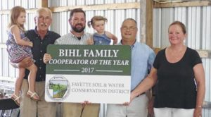 70th-annual meeting held Tuesday by Fayette Soil & Water Conservation District