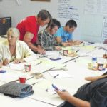 Students learn budgeting with YouthBuild