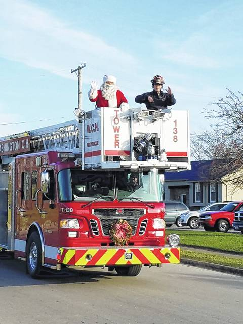 The Fayette County Chamber of Commerce is asking the community for theme suggestions for the upcoming Christmas Parade on Sunday, Nov. 26. Residents have until Aug. 24 to submit their ideas on the organization's website at www.fayettecountyohio.com with the winning suggestion earning a $50 Visa card. Here is a photo of Santa from last year's parade.
