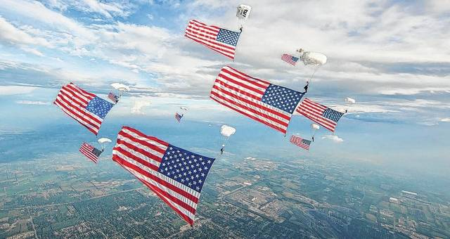 A sky-diving team from Team Fastrax is scheduled to put on three shows at Saturday's Fayette County Open House/Fly-In at the Fayette County Airport.