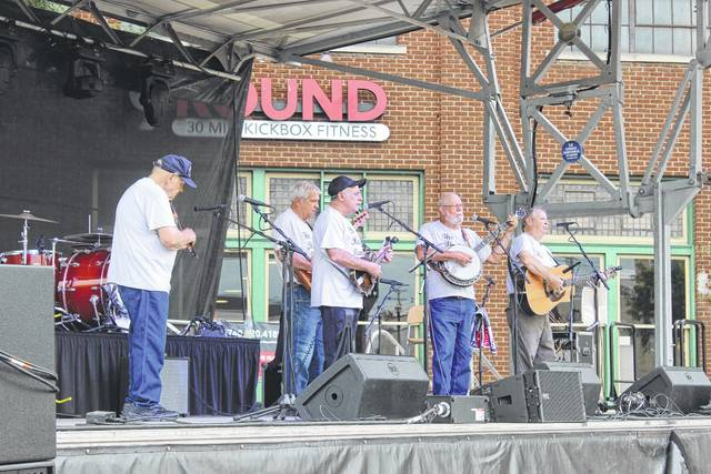 The 2017 Scarecrow Festival was held over the weekend in downtown Washington Court House. The Bluegrass Ramblers entertained the crowd Friday evening from the main stage on Main Street.