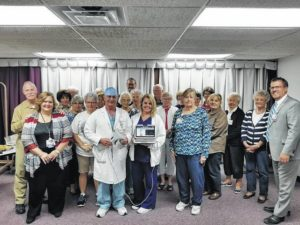 FCMH Auxiliary donates equipment to hospital