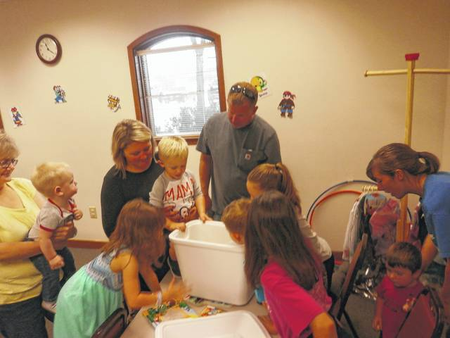 Jeffersonville Branch Library was the place to be for Miss Bonnie's Story Hour featuring a Pirate Party.