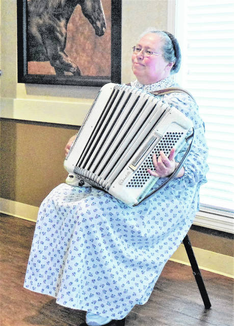 Among the locals who in 2017 have volunteered their musical talents in one or both of those nursing home settings: Accordion player Loydene Cole, who, along with her husband Michael, is also an accomplished pianist.