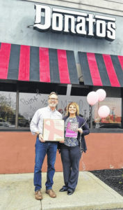 Donatos Pizza joins FCMH Foundation to fight breast cancer