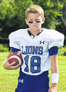 Gavin Coffman, a fifth-grader at Belle Aire Intermediate School, was named an Offensive Player of the Week for the past weekend's game.