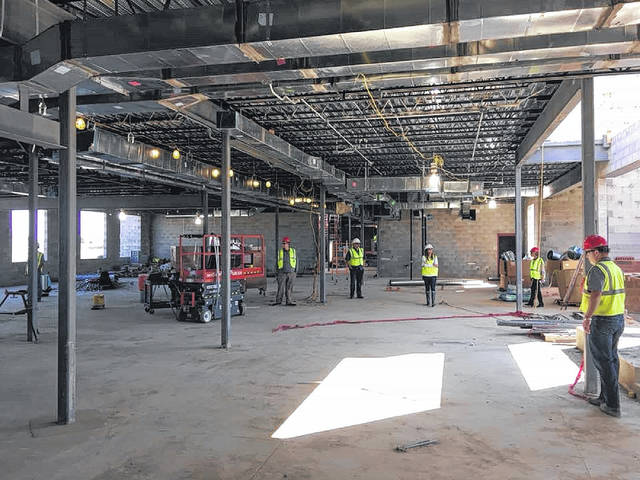 Much progress has been made on the new Miami Trace High School project. The school is expected to open in January 2019.