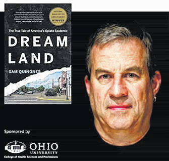 "Sam Quinones, author of the book ""Dreamland: The True Tale of America's Opioid Epidemic"" came to Athens, Ohio this week."