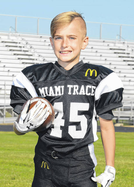 Spencer Smith of the fifth grade White team was named the Defensive Player of the Week.