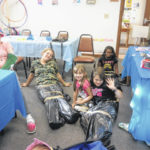 Jeff Library holds Mermaid Party