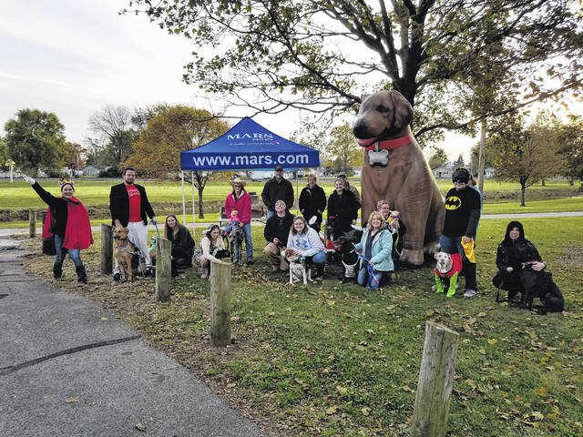 The first ever Howl-O-Ween event was held to help celebrate the opening of the new Dog Park at Chrisman Park. During the event, owners and dogs dressed in costumes in an attempt to win one of several categories.