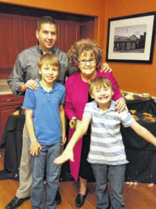 Signature inducts three at HOF Cafe