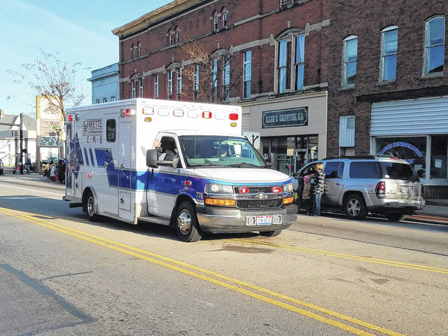 The Washington C.H. community celebrated first responders on Sunday during the 2017 Christmas Parade. Among those honored were Rod List, EMS Director.