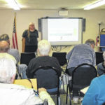 Bergheimer presents program to Genealogical Society