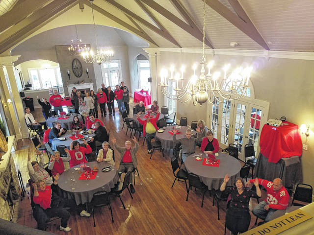 The Fayette County Republican Central Committee celebrated fall with a Buckeye Watch Party at The Highland House this past weekend. Fun and good food was enjoyed by all in attendance. Pictured here are many members of the committee joined by several Republican elected officials.