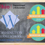 Washington Middle School earns Momentum Award 2017