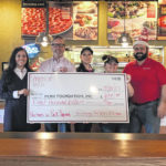FCMH Foundation recipients of Donatos Pink campaign