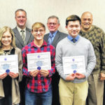 Three WCHCS students honored for excellence