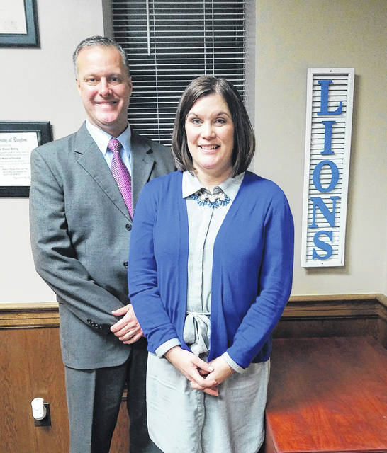 Jennifer Lynch (right) was named the 2018 Washington Court House City Schools Board of Education President for the third time in her seven-year tenure on the board Monday evening during their re-organizational meeting. The vice president voted in was Craig Copas, who is serving his fifth year on the board and second time in the position.