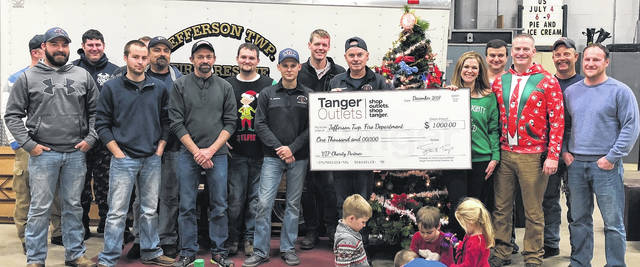 Tanger Outlets Jeffersonville recently donated to the Jefferson Township Fire Department.