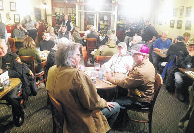 """A packed house was in place at Momma's West Main Cafe in Hillsboro during the pre-dawn hours Wednesday morning, just prior to the start of the """"Fox & Friends"""" broadcast at 6 a.m."""