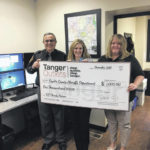 Tanger donates to area sheriff, EMS and fire departments