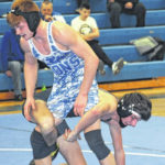 Panthers win dual with Blue Lions
