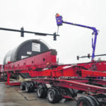 Second large dryer passes through town