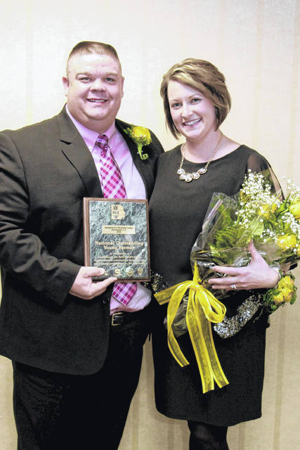 Nick and Sunny Cummings were recently named national winners at the National Outstanding Young Farmers Awards Congress.