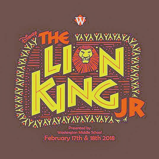 Washington Middle School To Present The Lion King Jr The