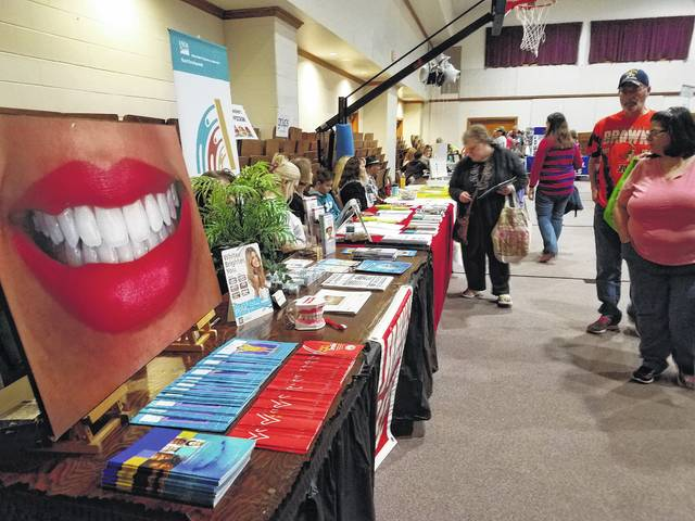 The 28th-annual Community Health Fair and Family Fun Day is returning Saturday, April 28 from 8 a.m. to 2 p.m. Pictured are organizations and residents in attendance at the 2017 Community Health Fair.