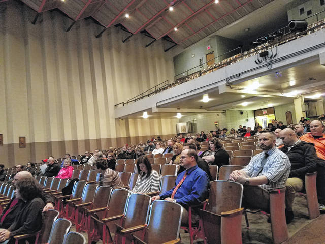 A crowd of parents and Miami Trace staff gathered for the forum Thursday and were updated on the safety improvements made to the district over the last five years. Lewis said these improvements cost between $300,000 and $350,000, and have always been a priority for the district.