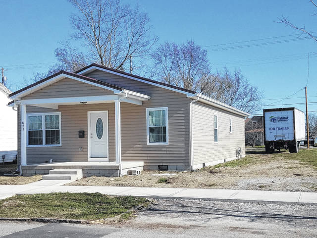 A family of three is moving into this new home constructed by Habitat for Humanity at 621 E. Paint St. in Washington Court House. A groundbreaking and open house will be held this Sunday. The community is welcome.