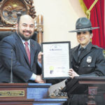 Rosenberger honors 2017 Ohio State Highway Patrol Trooper of the Year